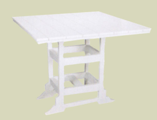 42″ Square Table