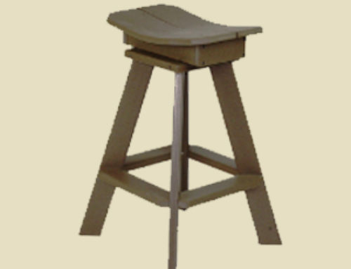 Bar Stool 27″ Stationary