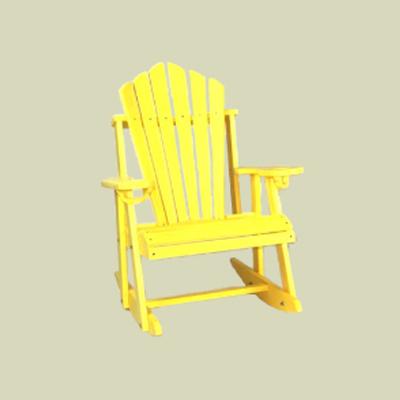 Fan Back Rocking Chair