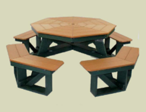 Picnic Table 48″ Octagon