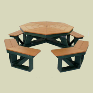 Picnic Table 48inch Octagon