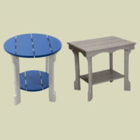 Round & Rectangular End Tables