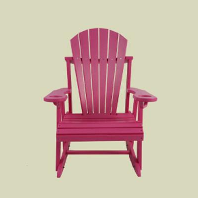 Round Back Rocking Chair