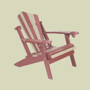 Traditional Adirondack with Stationary Fan Back