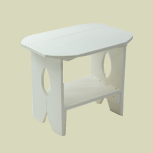 V-Bottom Side Table